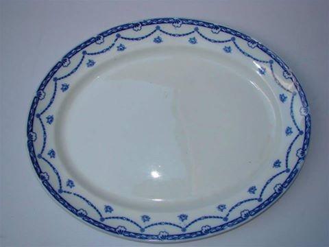 Bandeja De Porcelana Inglesa Antigua