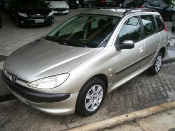 Peugeot 206 Sw 1.4 Presence Flex 2006 Prata