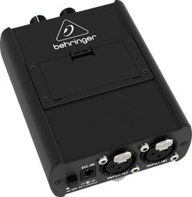 Amplificador De Fone Ponto Monitor Powerplay Behringer P1