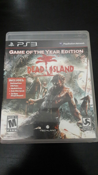 Dead Island Ps3 ( Game Of The Year Edition )