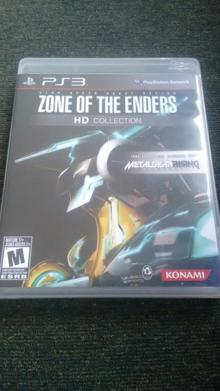 Zone Of The Enders Hd Collection Semi Novo Original Ps3