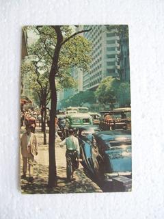 Cartão Postal - Avenida Rio Branco- Rio De Janeiro
