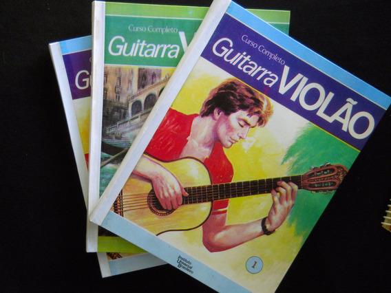 Curso Completo Guitarra Violão - 3 Volumes