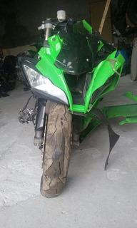 Sucata De Moto Para Peças Kawasaki Zx-10r Modelo 2011 Até 12