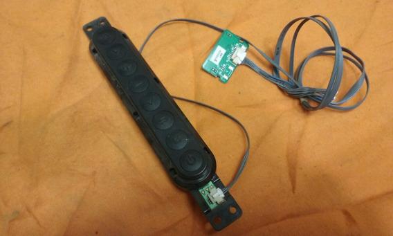 Teclado Sensor Remoto Tv Led Lg 42la6130 Seminova