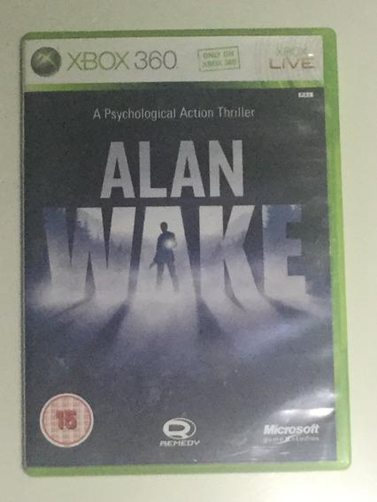 Alan Wake Xbox Pal Europeu Compatível Com Xbox One
