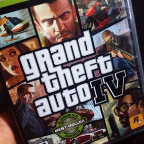 Gta 4 + Mapa - Xbox 360 - Muito Novo!