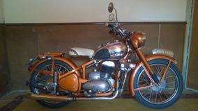 Jawa 250cc Año 1952 Perak Restaurada Impecable