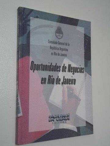 * Livro - Oportunidades De Negocios En Rio De Janeiro