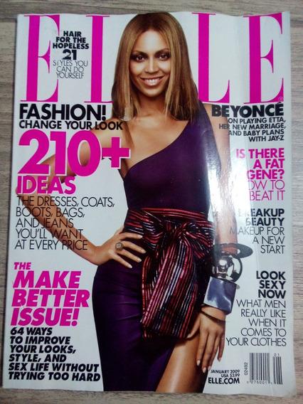 Revista Elle Importada Jan/09 Beyoncé