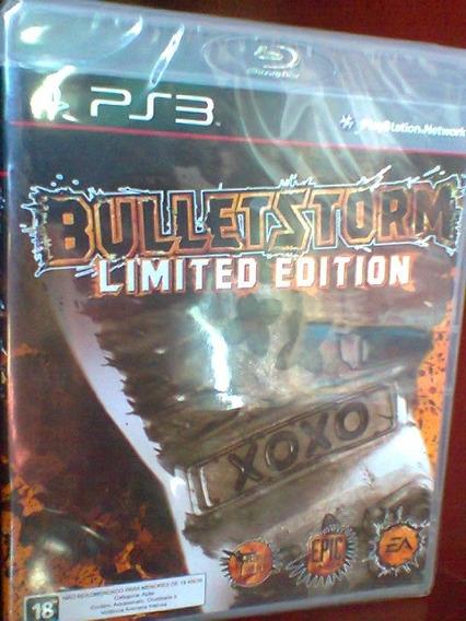 Jogo Bulletstorm Limited Edition Ps3 Game Original Lacrado