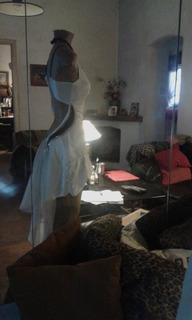 Vestido.baile Salsa..tango C/aplic/transparencia