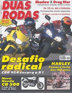 2r.337 Out03- Honda Shadow Drag Star Cbr900 Yama Yzfr1 Cb400