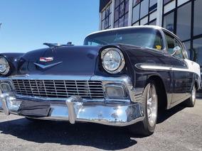 Chevrolet Belair 1956 4d Ht 4 Portas Sem Coluna Raridade.