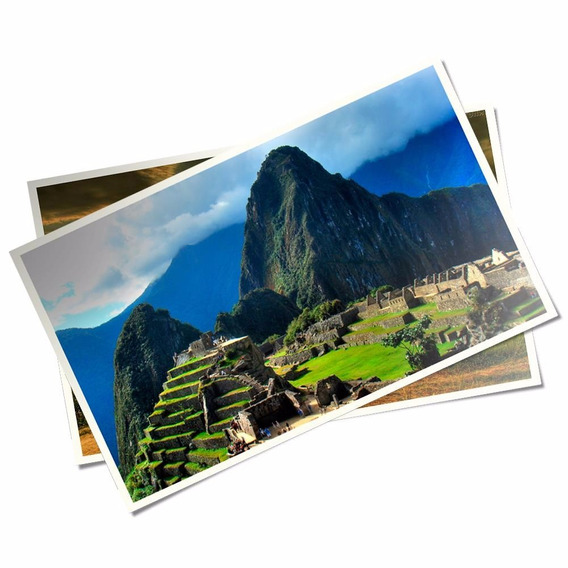100 Folhaspapel Fotográfico Adesivo Glossy A 4 Brilhante