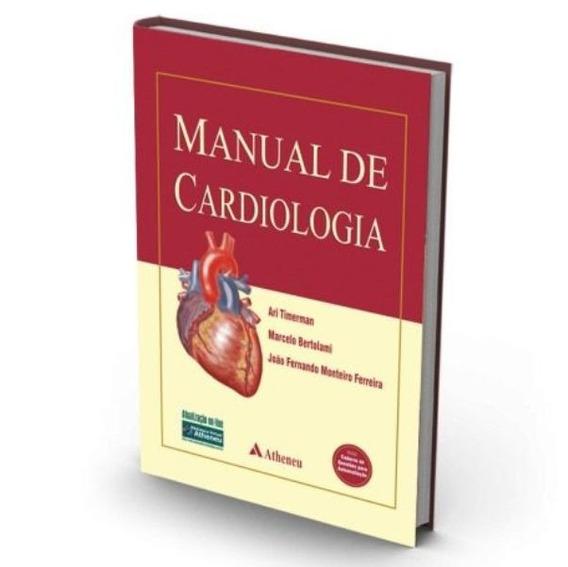 Livro Manual De Cardiologia Timerman Medicina Cirurgia Novo