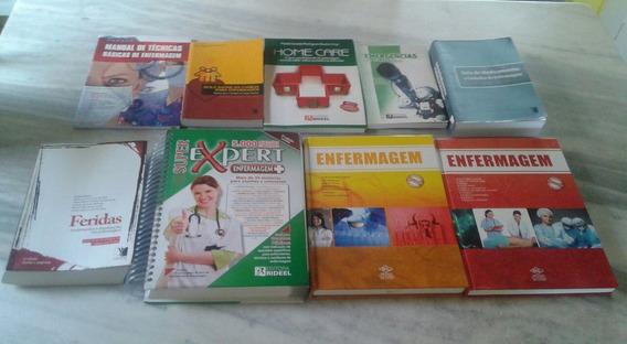 Livros De Enfermagem, Coleção Completa