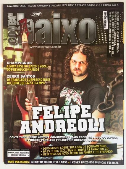 Revista Cover Baixo - Ed 52 - Jan/2007 - Felipe Andreoli