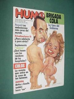 Revista Humor 331 Menchu Tum Blues Ray Charles Hugo Arana