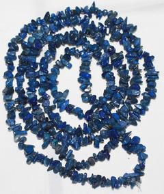 Cascalho Lapis Lazuli Natural Azul Miudo 85cm Teostone 429