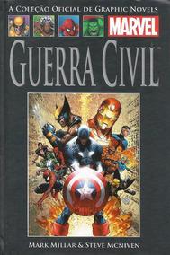 Hqs Guerra Civil Coleção Completa