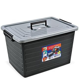 Carrinho Caixa Para Ferramentas Container Organizador 50lts