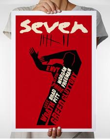 Pôster Do Filme Seven De David Fincher