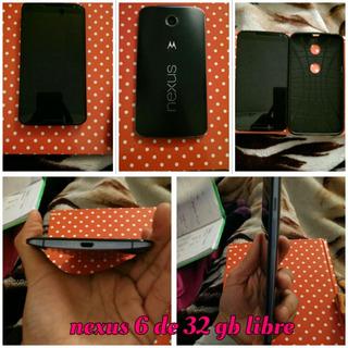 Vendo O Permuto Nexus 6 De 32 Gb Libre