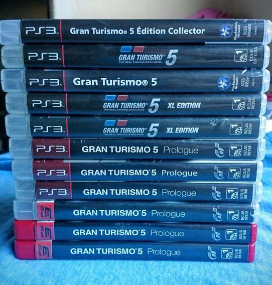Gran Turismo 5 Ps3 Midia Fisica-frete R$10