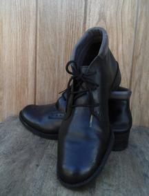 Bota Feminina- Soft Shoes Couro Original Num.34