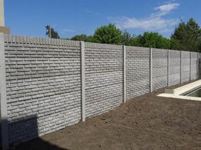 Cerco Premoldeado Muro Pared Medianera Hormigon