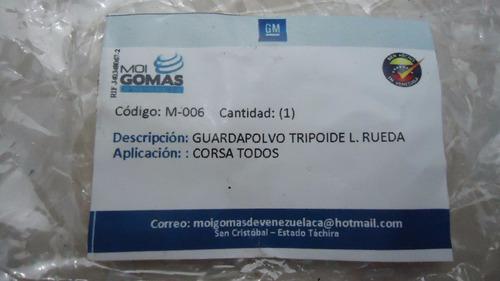 Kit Goma De Tripoide Lado Rueda Corsa Todos M-006 Rd