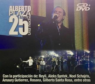 Cd Alberto Plaza 25 Años Una Noche 2cds Y 1dvd Nuevo