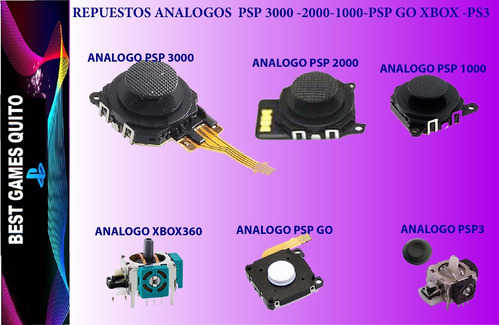 Repuestos Cintas Análogos, Carcasas Pspgo-psp-ps2-ps3-xabox