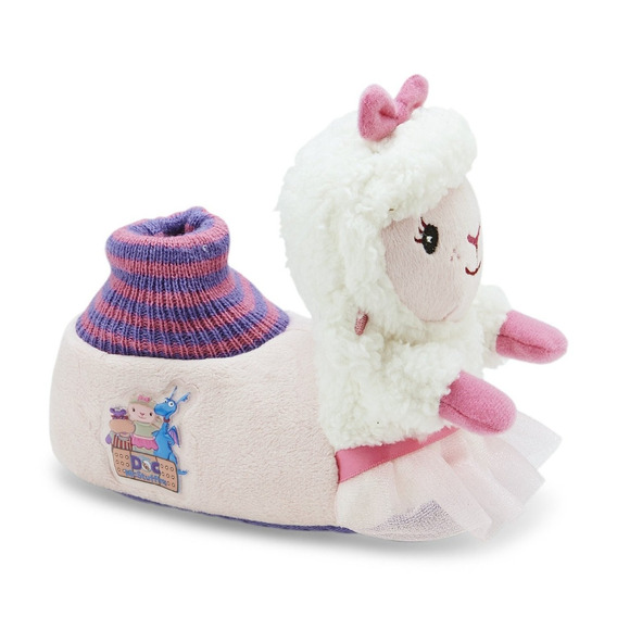 Disney Doutora Brinquedos Chinelo Pantufa Lambie