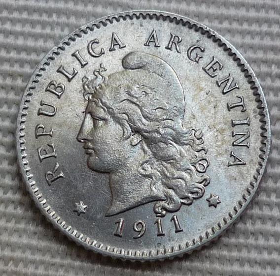 Argentina Moneda 10 Centavos 1911¡¡sin Circular Brillante !!