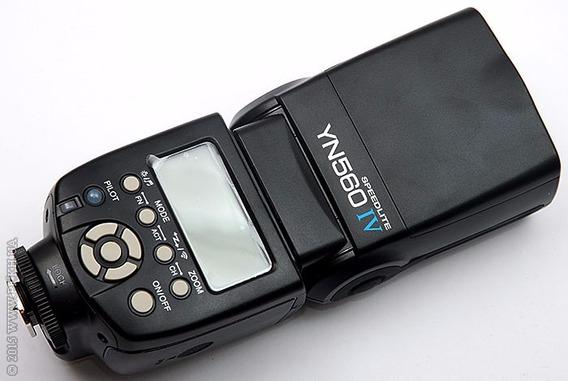 Flash Yongnuo Yn560 Iv Universal Sony Canon Nikon Olympus