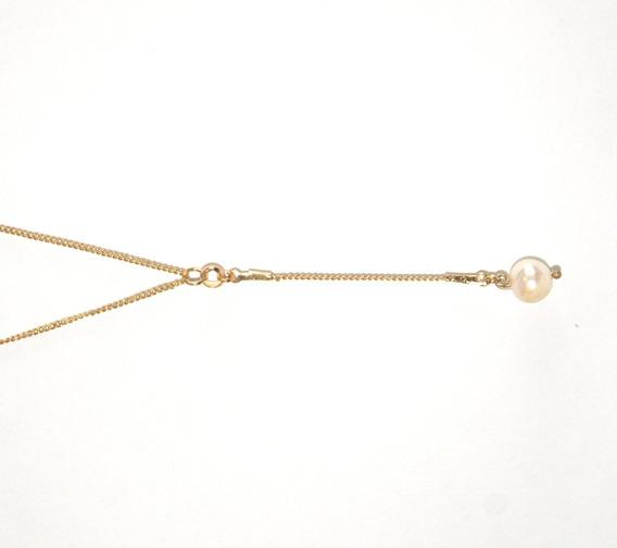 Joyería Nácar. Chapa De Oro Y Perla Natural.