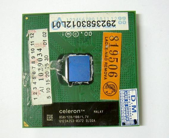 Processador Socket 370 Intel Celeron 850mhz/128/100/1.7v