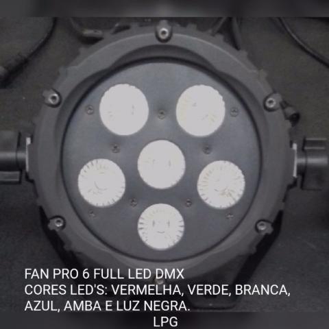 Refletor De Led Fan Pro 6 Lpg