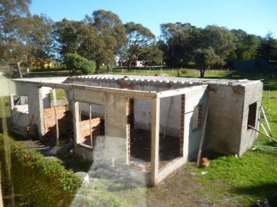 Vendo Terreno Con Construccion A Terminar Acantilados