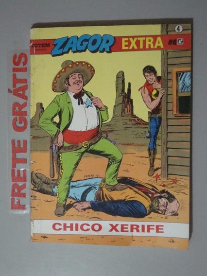 Revista Zagor - Extra Nº 4 -chico Xerife