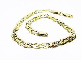 ¿pulseira Corrente Em Ouro 18k