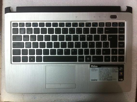 Carcaça Base Superior C/ Touchpad Sem Teclado Philco 14g