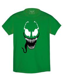 Playera Estampada Superhéroes Venom 2