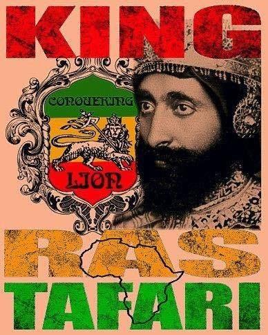 Camisa Camiseta Em Algodão- Rastafari King - Emborrachada!