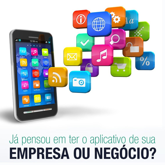 App Android Ios Aplicativo Mobile + Site Institucional