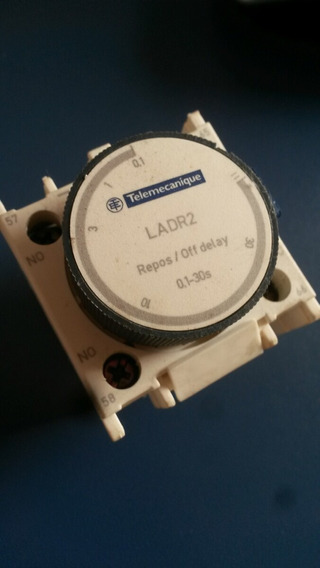 Relé Temporizador Telemecanique Ladr2 Repos/off Delay 0,1-30