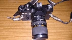 Máquina Fotográfica Zenit - 12xp - 35mm Preta, Linda P/colec
