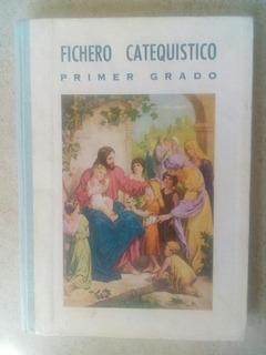 D9 Fichero Catequistico Primer Grado Libro Del Maestro- 1957